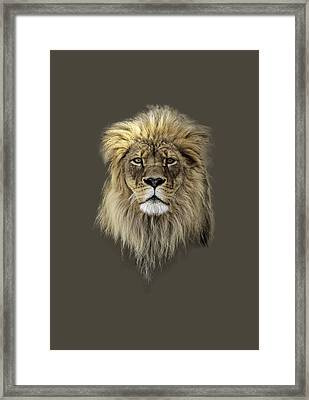 Joshua T-shirt Color Framed Print by Everet Regal