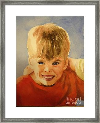 Joshua Framed Print by Marilyn Jacobson