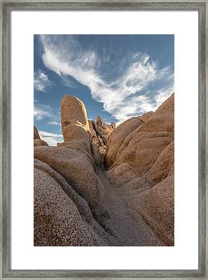 Joshua Rocks Framed Print by Joseph Smith
