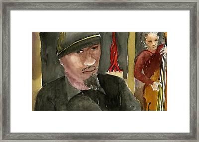 Joshua White Framed Print