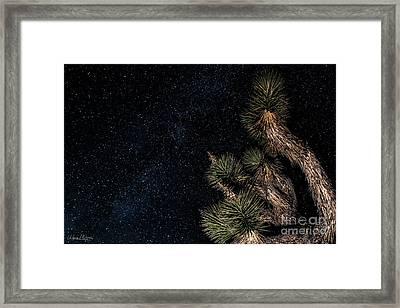Joshua's Stars Framed Print