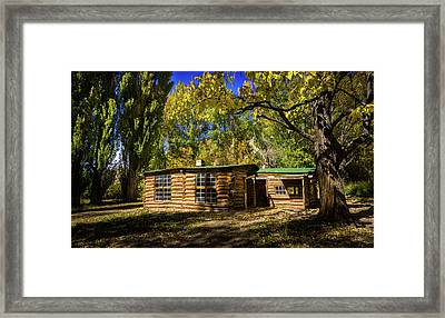 Josie's Cabin Framed Print by TL Mair