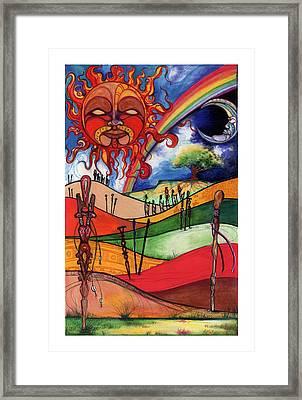 Journey Framed Print by Anthony Burks Sr