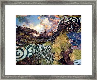 Journey Framed Print by Gail Butters Cohen