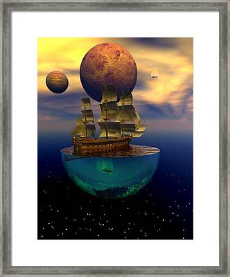 Journey Into Imagination Framed Print by Claude McCoy