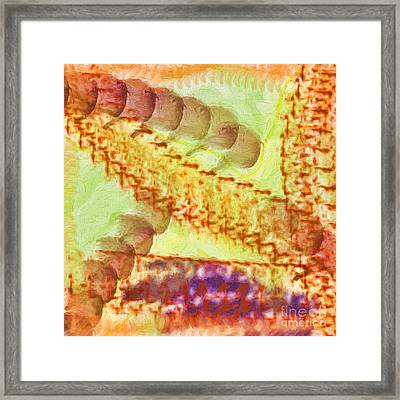 Journey Into Reality Framed Print
