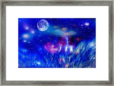 Journey Into The Universe Framed Print