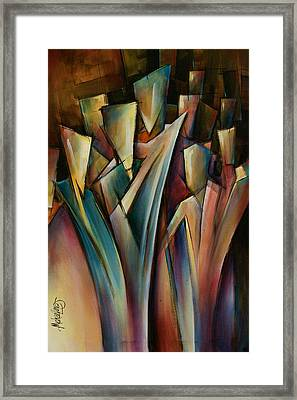 Journey Framed Print by Michael Lang