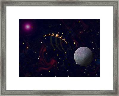 Journey Framed Print by Morgan Rex
