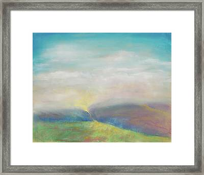 Journey Of Hope Framed Print