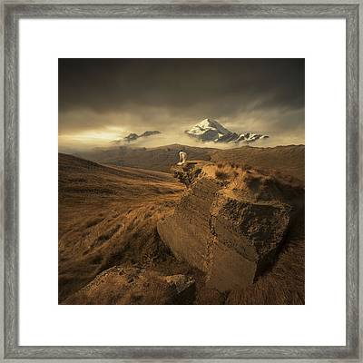 Journey Of One Framed Print by Michal Karcz