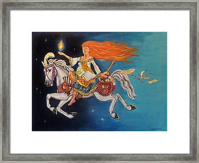 Journey Of The Creative Soul Framed Print
