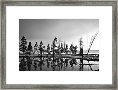 Journey Through The Past Framed Print by Andrew Finn