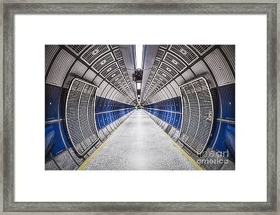 Journey To The Center Of Your Mind Framed Print by Evelina Kremsdorf