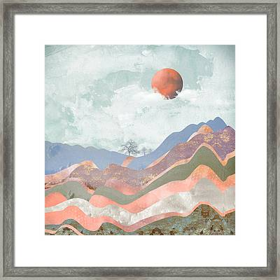 Journey To The Clouds Framed Print