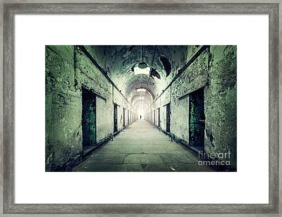 Journey To The Light Framed Print