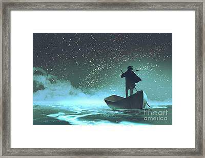 Journey To The New World Framed Print