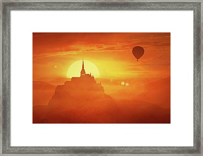 Journey To The Past Framed Print