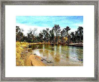 Journey To The Rivers Bend Framed Print