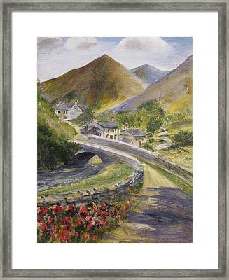 Framed Print featuring the painting Journey by Trilby Cole