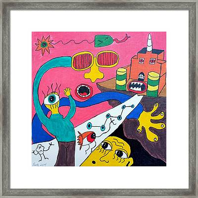 Journey Upon The Path Of Despair Framed Print by Paulo Guimaraes