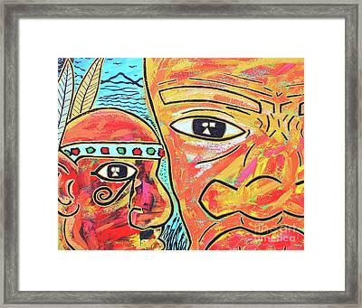Journeys Ahead Framed Print