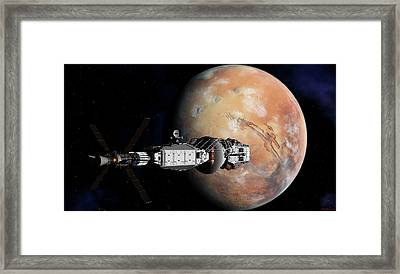 Journeys End Part2 Framed Print
