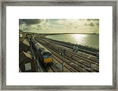 Journeys End  Framed Print