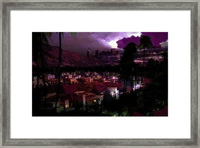 Journeys Through An Innocent Night Framed Print by Paul Sutcliffe