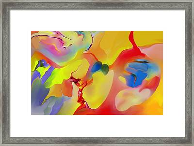 Joy And Imagination Framed Print by Peter Shor