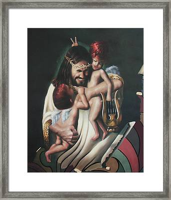 Joy Framed Print by Anthony Falbo
