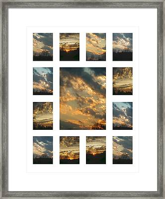 Joy In The Skies  Framed Print