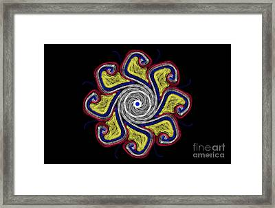 Joy Mandala Framed Print by Eva Maria Nova