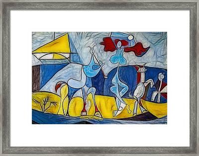 Joy Of Life Framed Print by Joachim G Pinkawa