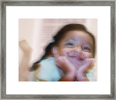 Joy Of Motion 3 Framed Print by Jim Wright