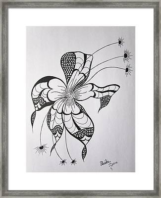 Joy Of Pattern Framed Print by Rosita Larsson