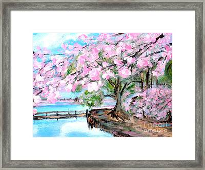Joy Of Spring. For Sale Art Prints And Cards Framed Print