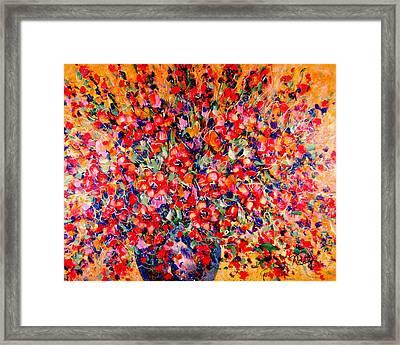 Joy Of Summer Framed Print by Natalie Holland
