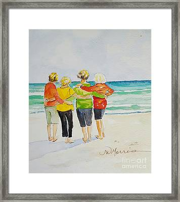 Joy, Phil. 4.1 Framed Print by Jill Morris