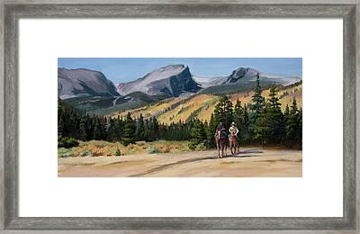 Joy Ride Framed Print by Mary Giacomini