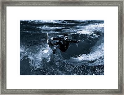 Joy Ride Framed Print by Tag 3