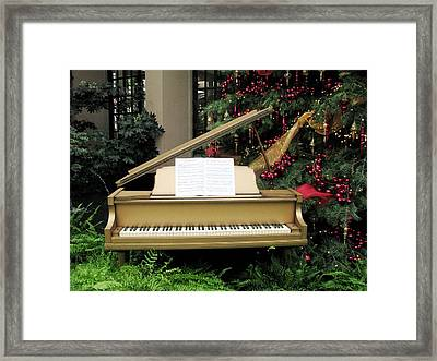 Joy To The World Framed Print by Angela Davies