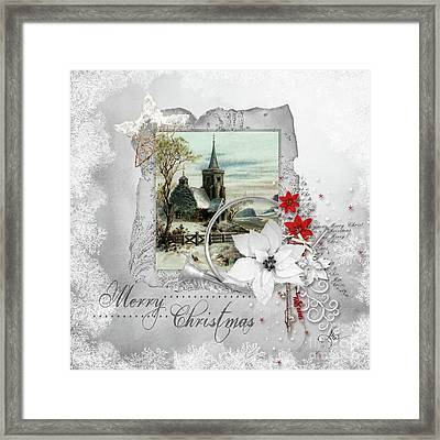 Joy To The World Framed Print by Mo T