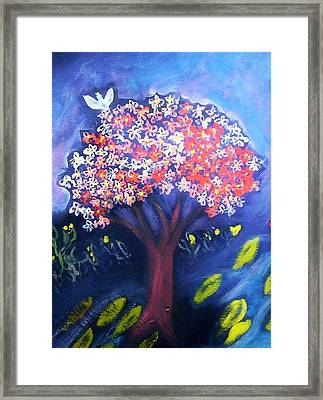 Framed Print featuring the painting Joy by Winsome Gunning