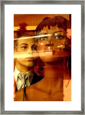 Joy Y Ronaldo Framed Print by Jez C Self