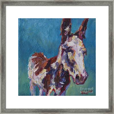 Joyce Framed Print by Patricia A Griffin