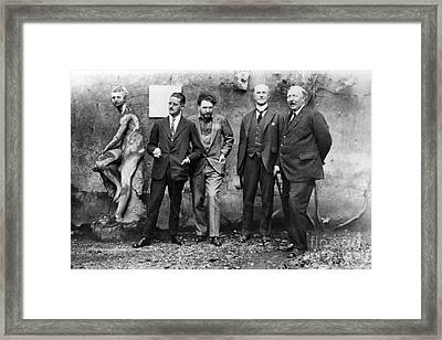 Joyce, Pound, Quinn & Ford Framed Print by Granger