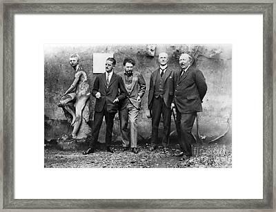 Joyce, Pound, Quinn & Ford Framed Print by Granger