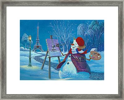Joyeux Noel Framed Print by Michael Humphries