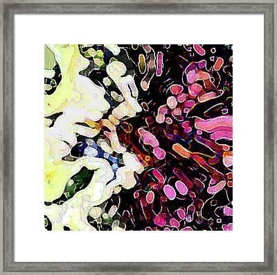 Joyful  By Rjfxx. - An  Original Abstract Art Painting Framed Print